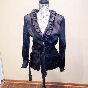 Antonio Melani black blouse size 10